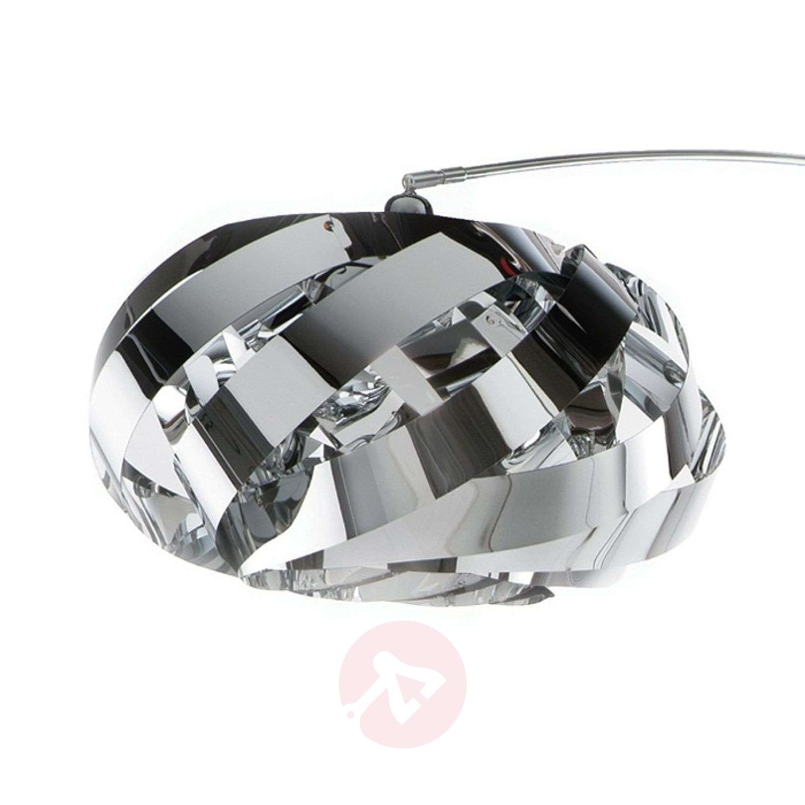 Modern and pleasing arc lamp Plaza, chrome-1056041-01