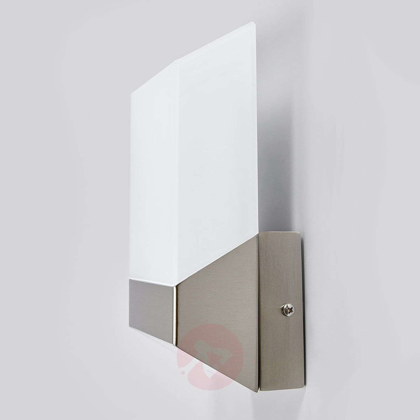 Modern Flat LED outdoor wall light stainless steel-3006327-01