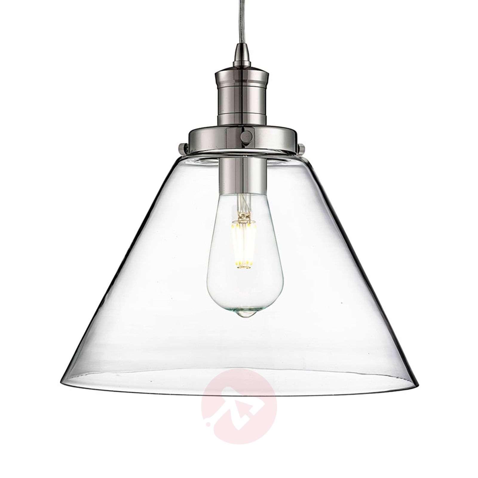 Modern glass pendant light Pyramid-8570997-01