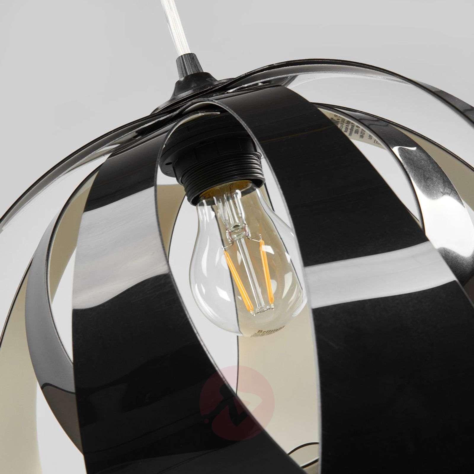 Modern GOCCIA DI LUCE hanging light, black-8503126-01