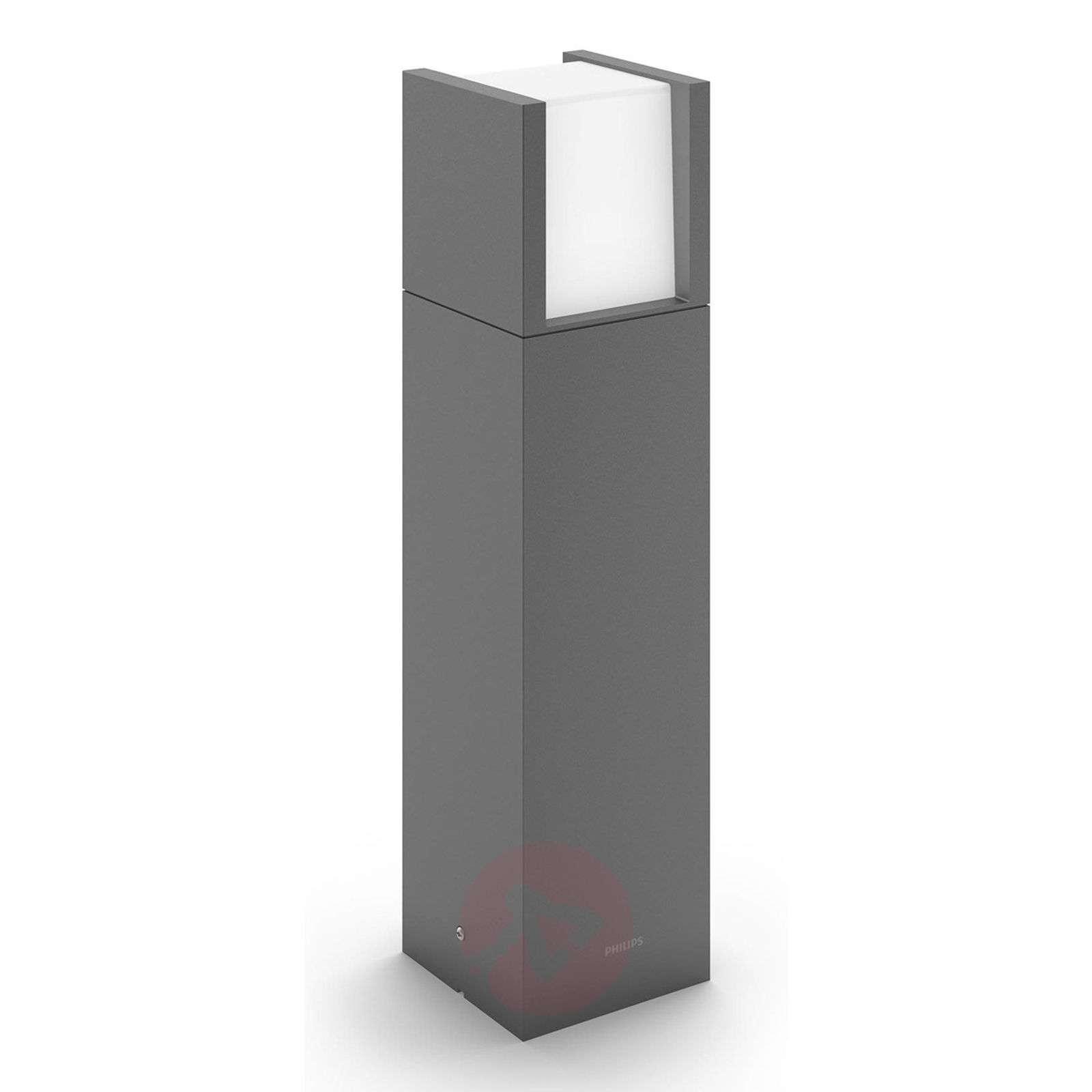 Modern LED pillar light Arbour | Lights.ie for Modern Pillar Lights  66plt