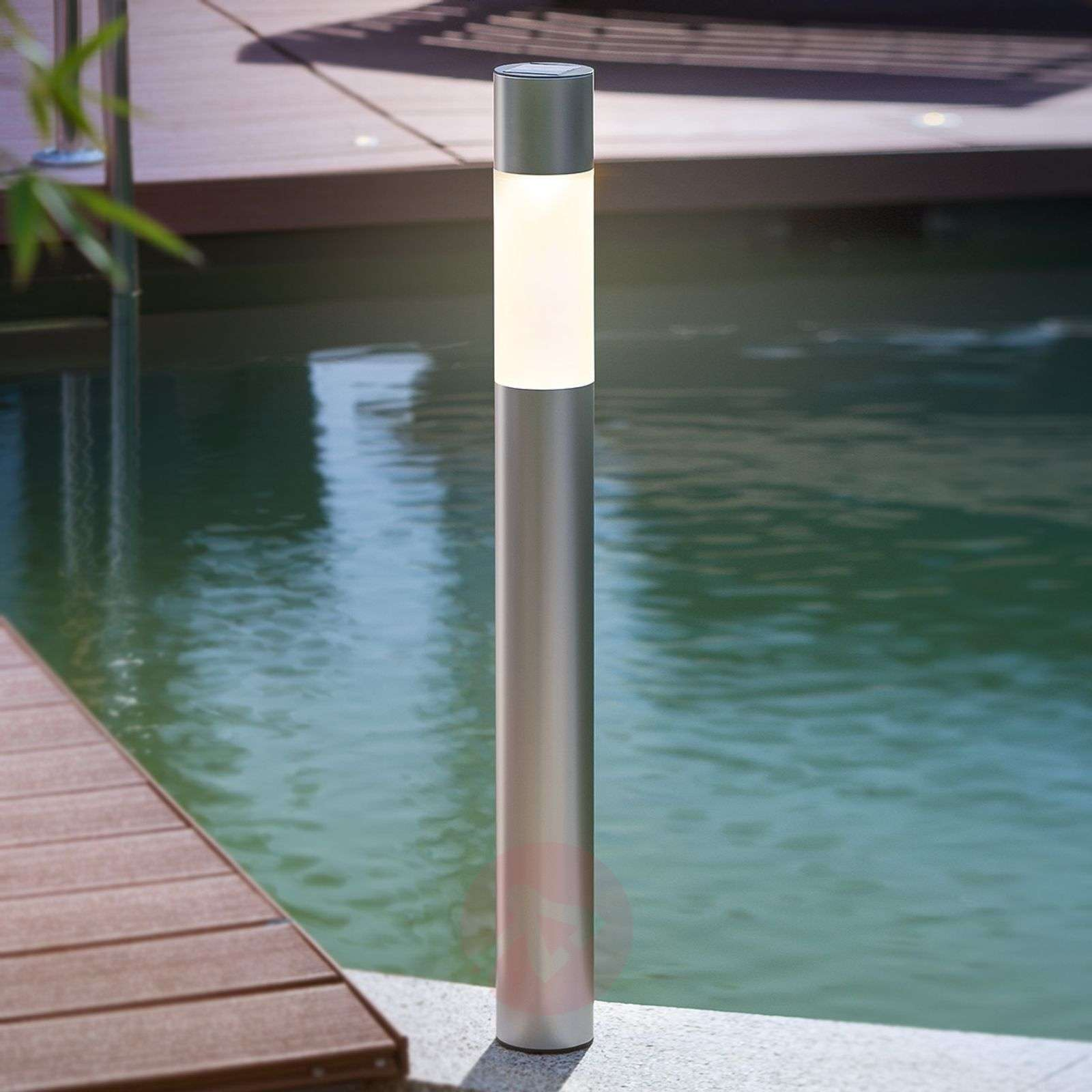 Modern LED solar lamp Pole Light-3012232-01