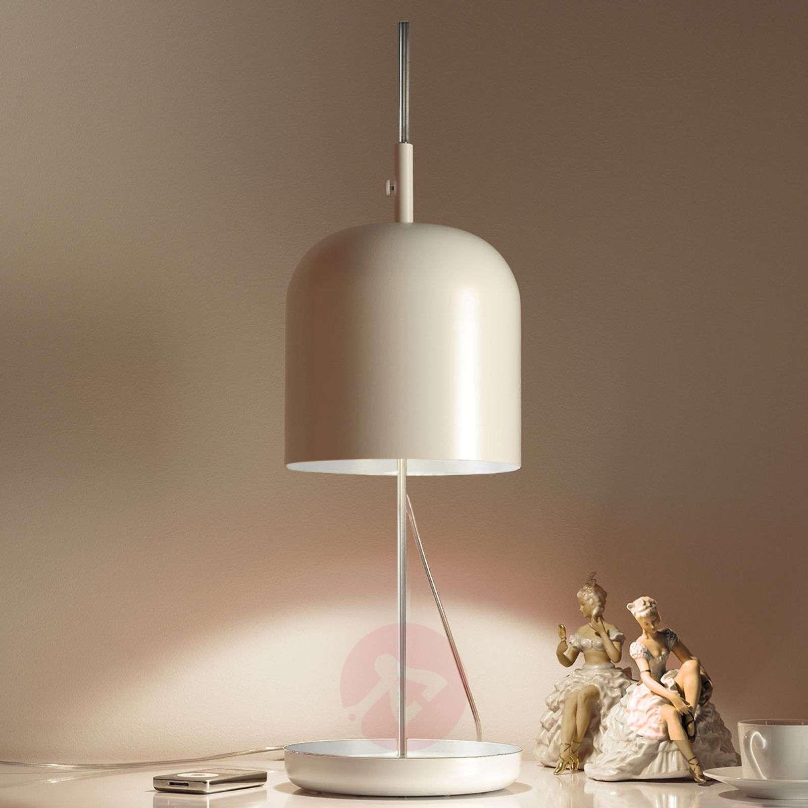 Modern LED table lamp Puk, white-1071075-01