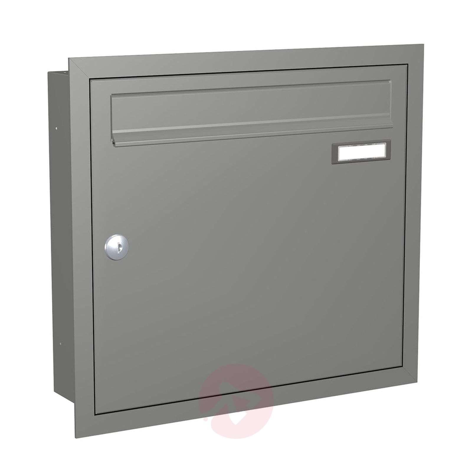 Modern letterbox Express Box Up 110 grey alu.-5540032-01