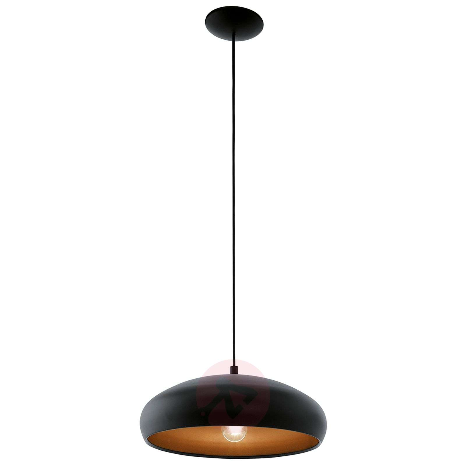 Mogano stylish hanging light w. black finish-3031944-01