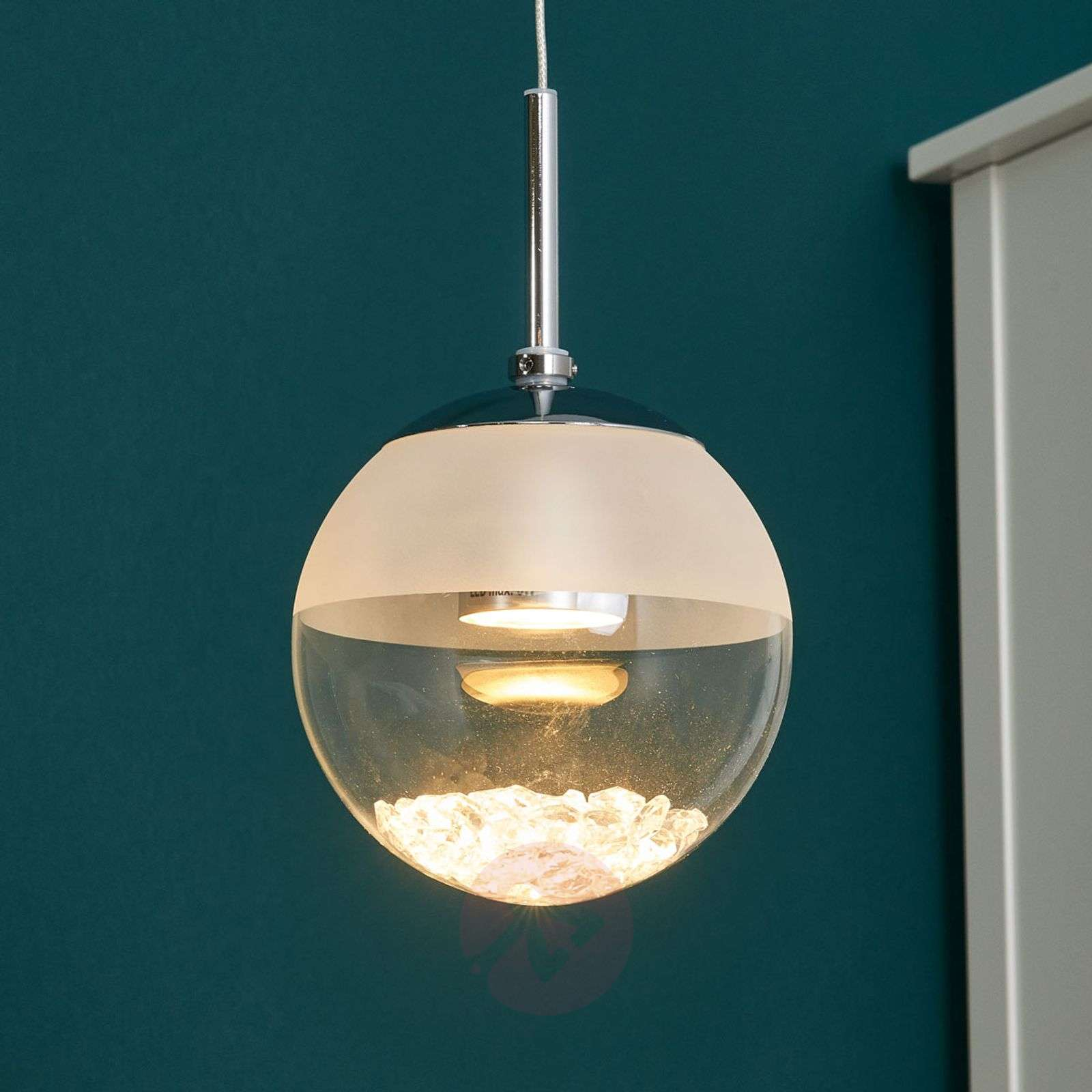 newest 45c74 fbb3a Montefio One Lamp LED Pendant Lamp with Crystal