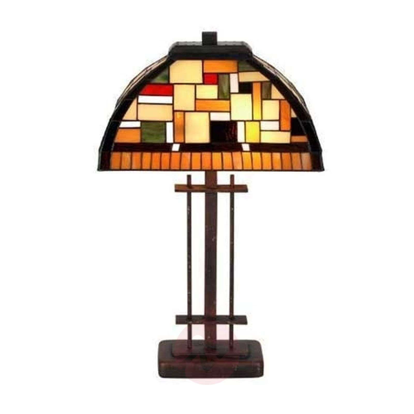 MOSAICA table lamp in Tiffany style-1032204-01
