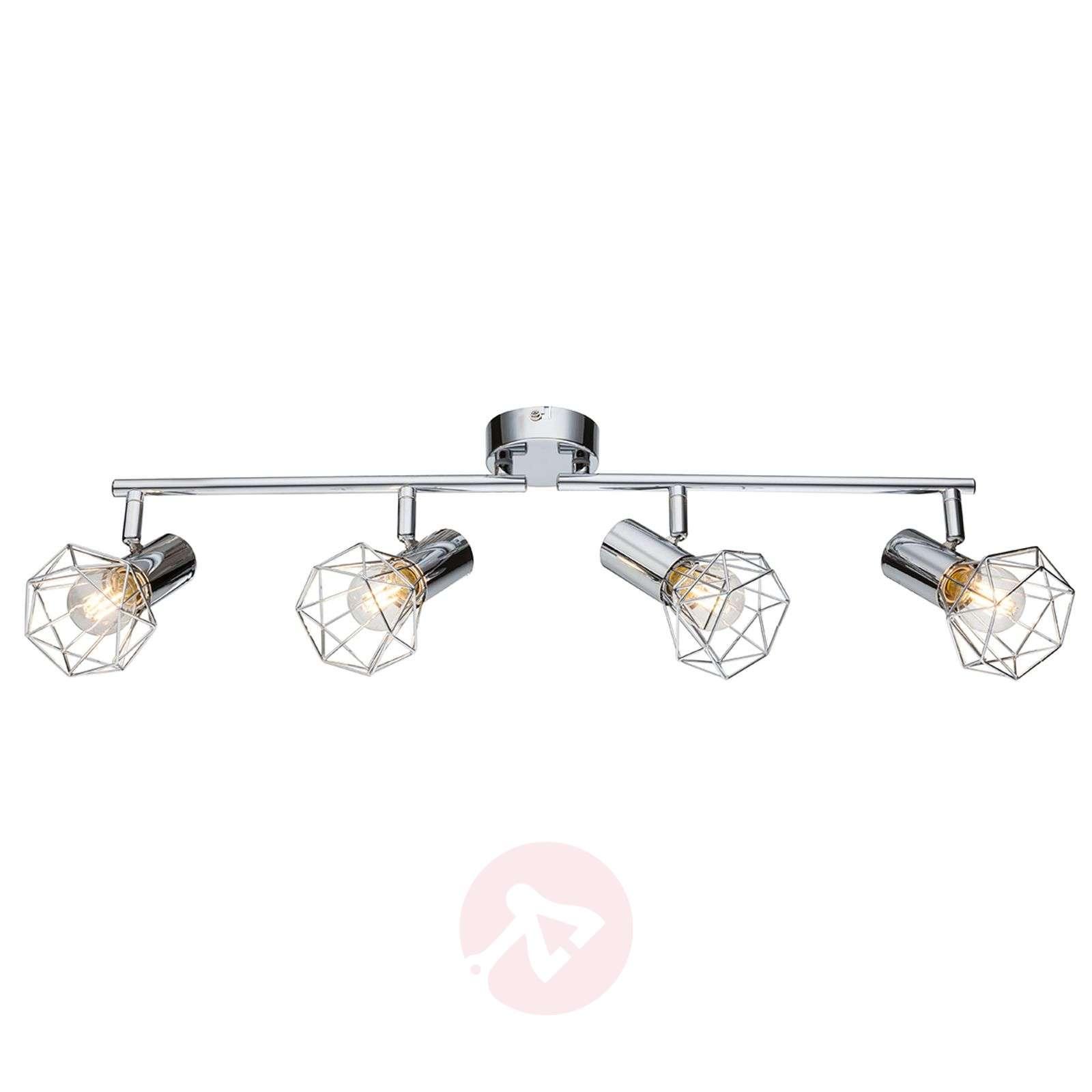 innovative design bf815 61d1e Moving spotlights - 4-bulb ceiling light Daiva