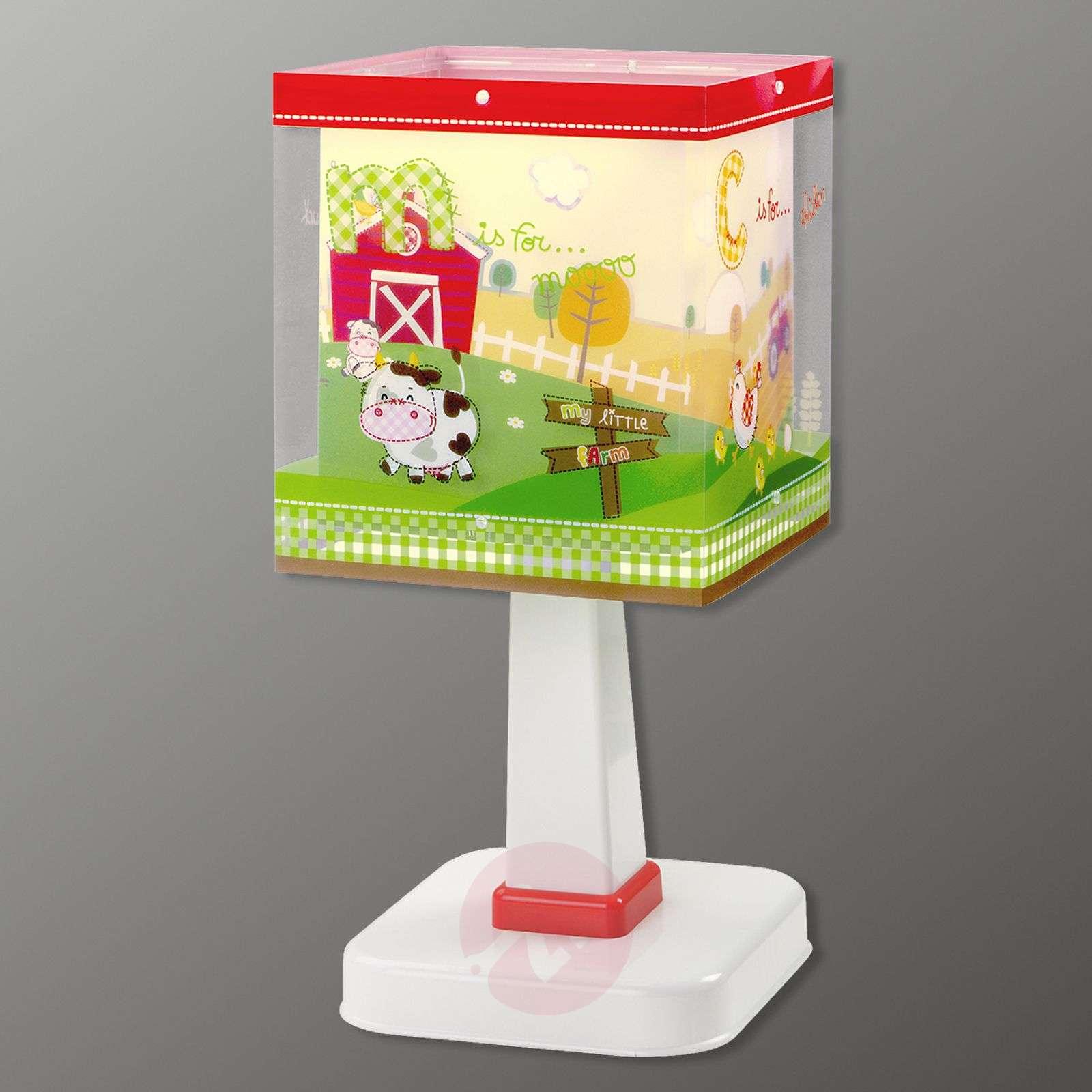 My Little Farm childrens table lamp-2507352-01