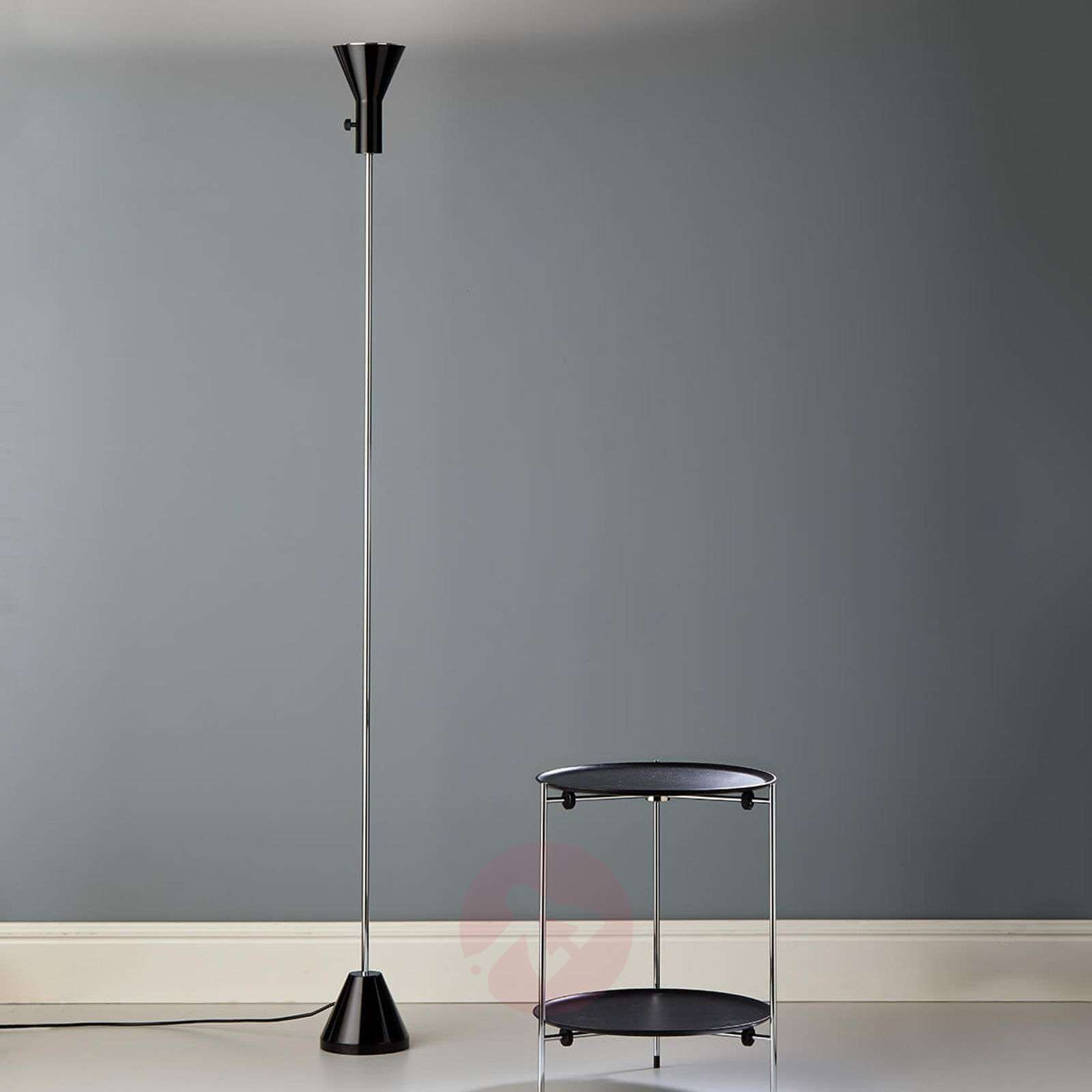 Narrow LED floor lamp Gru with dimmer-9030224-01