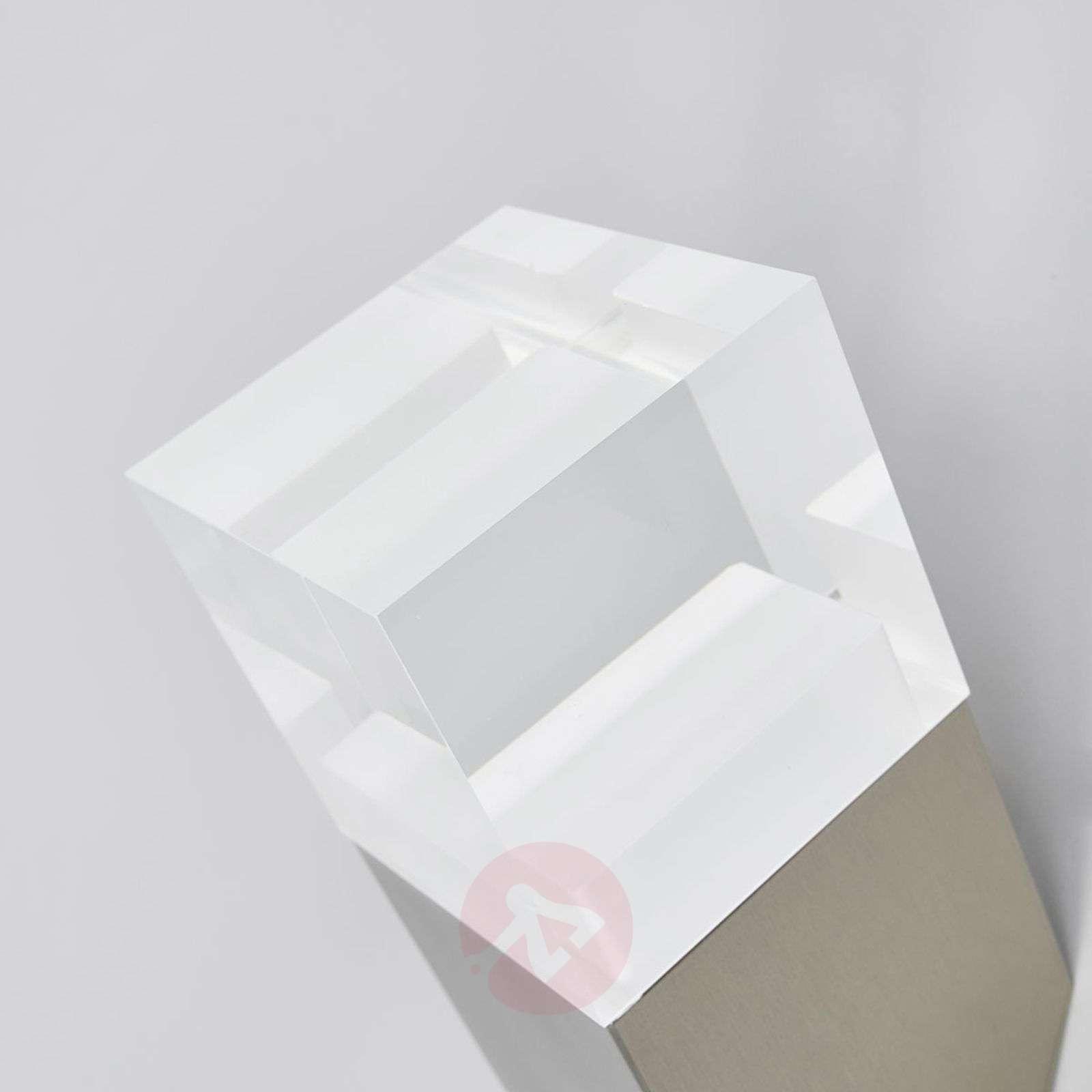 Nerius LED outdoor wall lamp, diagonal, sensor-9988158-01