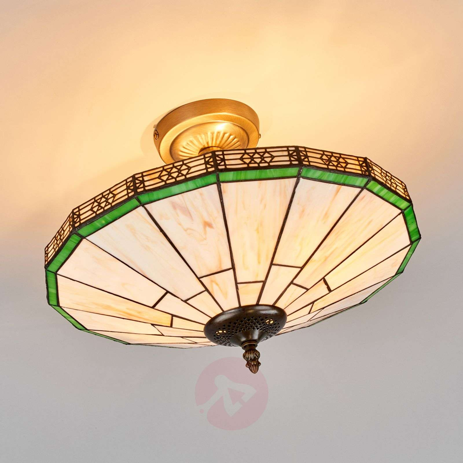 New York Classic Tiffany-style ceiling light-8570409-02
