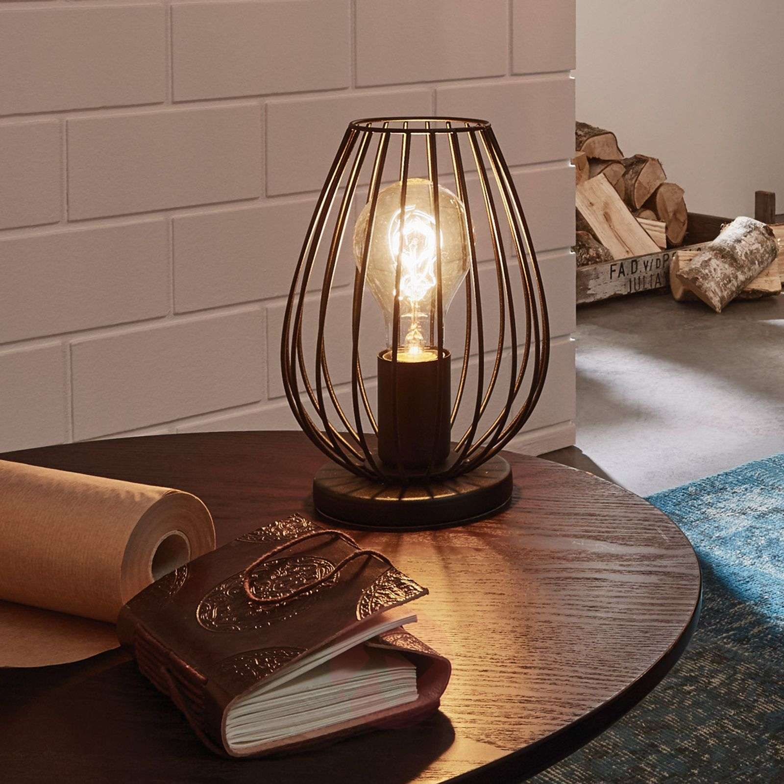 Newtown A Table Lamp With A Vintage Look Lights Ie