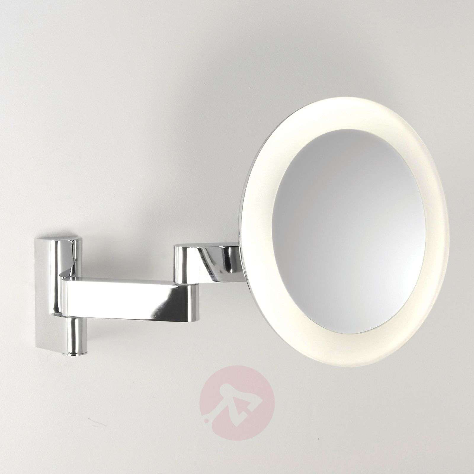 Niimi Round Cosmetic Mirror with LED Light-1020021-02