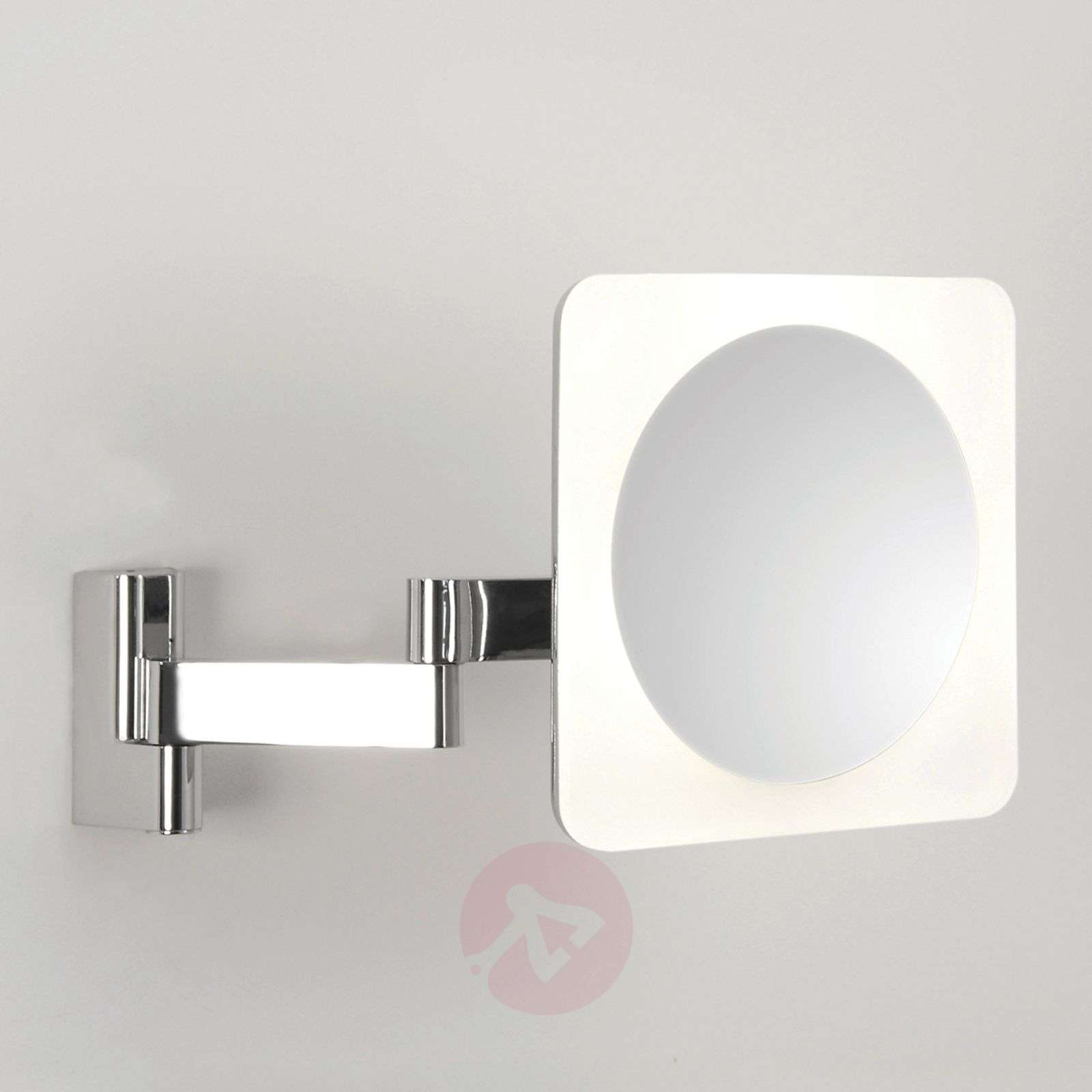 Niimi Square LED Mirror 5x Magnification-1020377-03