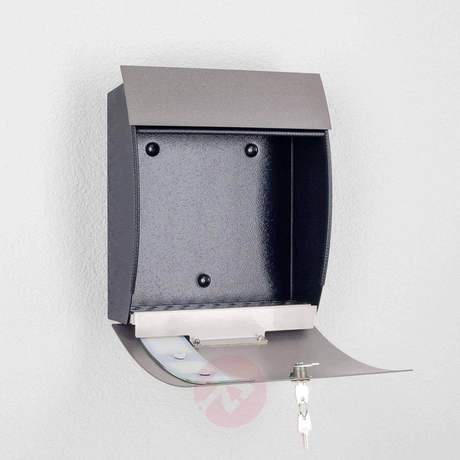 Nila High Quality Letterbox, Anthracite-2011116-01
