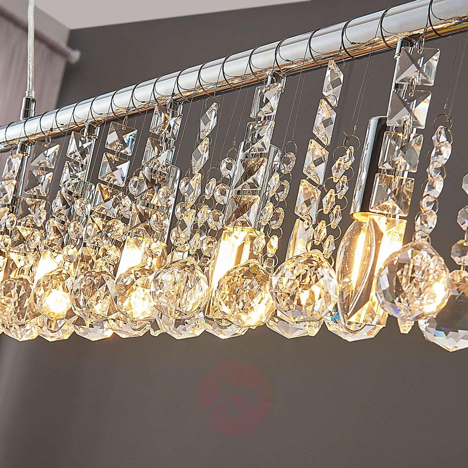Nine-bulb pendant light Matei, chrome-9621788-02