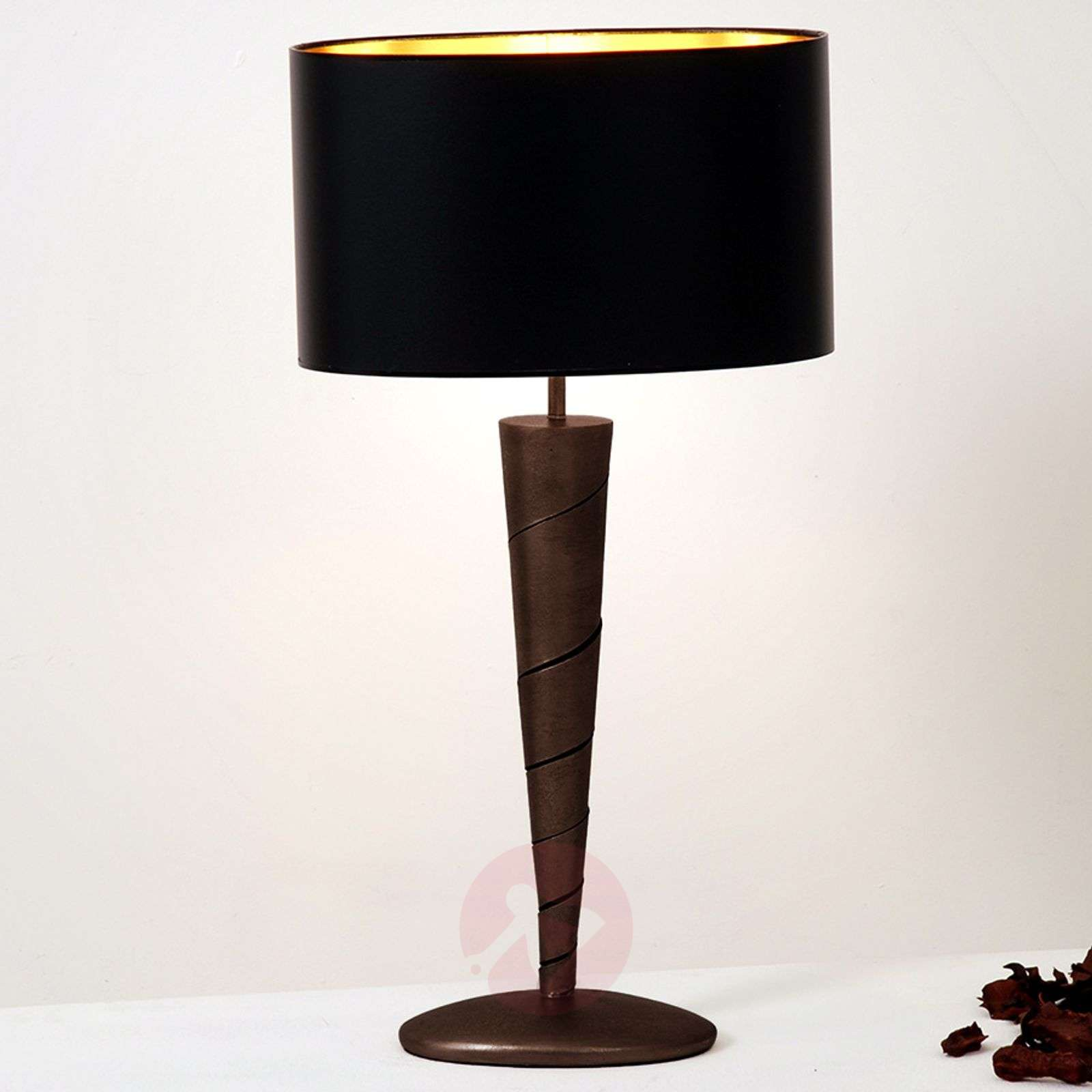 Noble table lamp INNOVAZIONE made of iron-4512034X-01