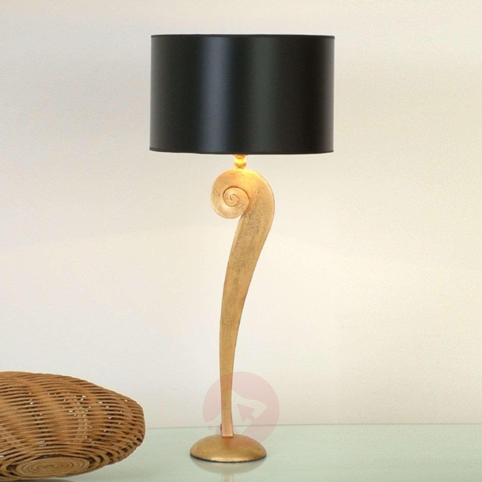 Noble table lamp LORGOLIOSO in gold-black-4512121-01