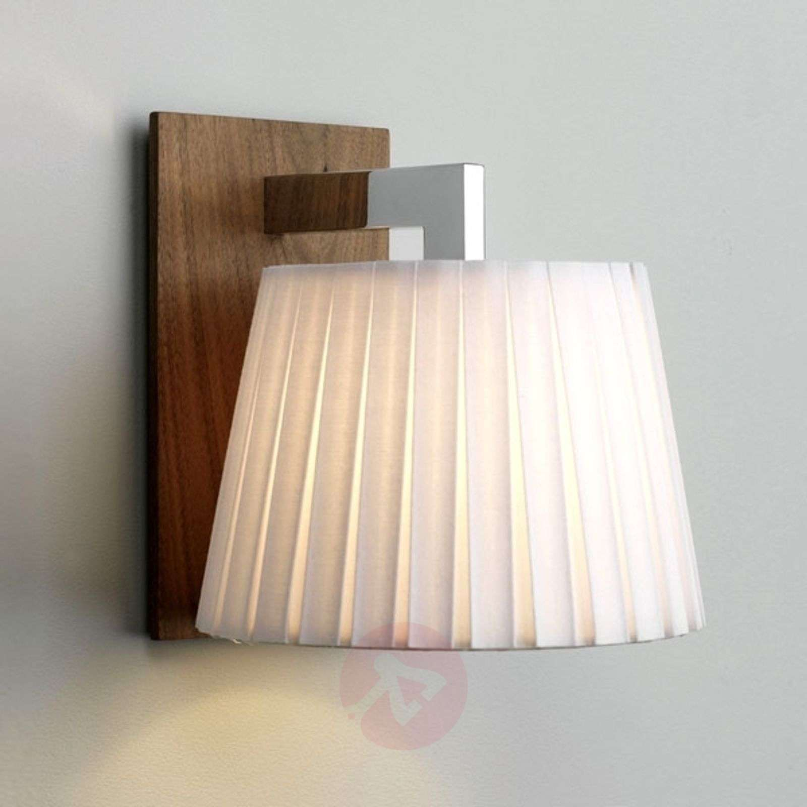 Nola Wall Light Elegant Walnut-1020214-01