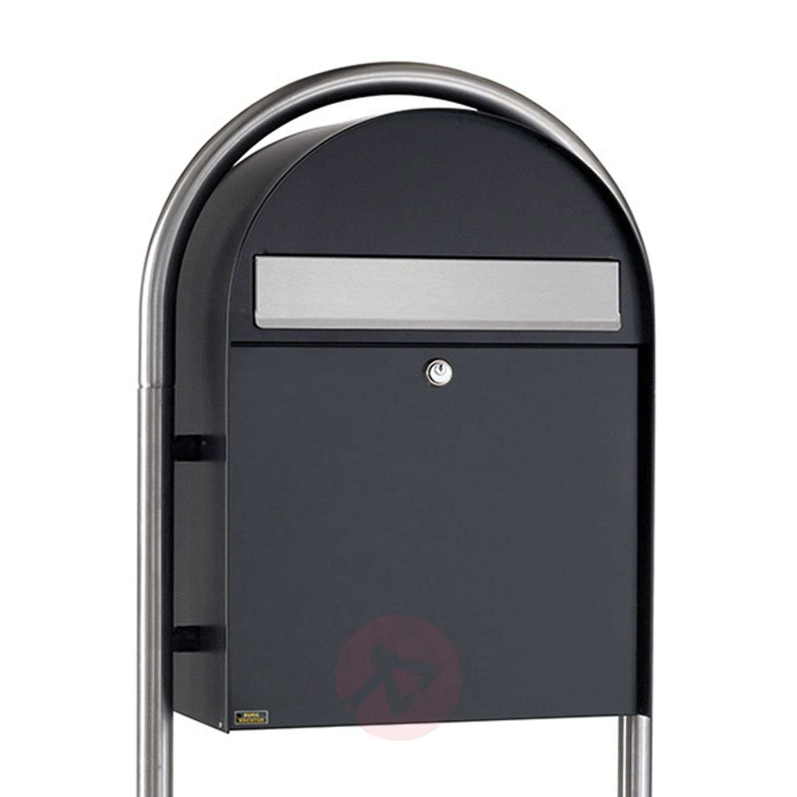 Nordic 780 large letter box, coated-1532142X-01