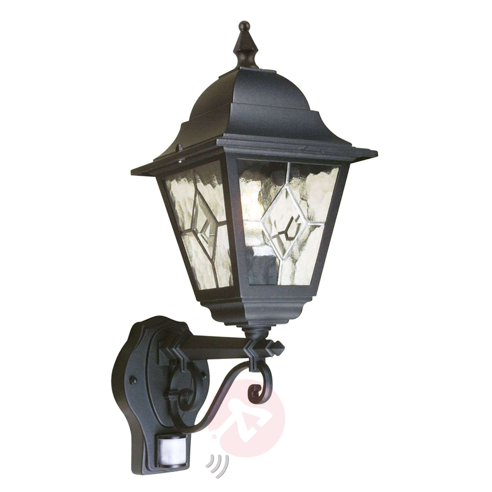 Norfolk outdoor wall lamp with motion detector-3048423-01