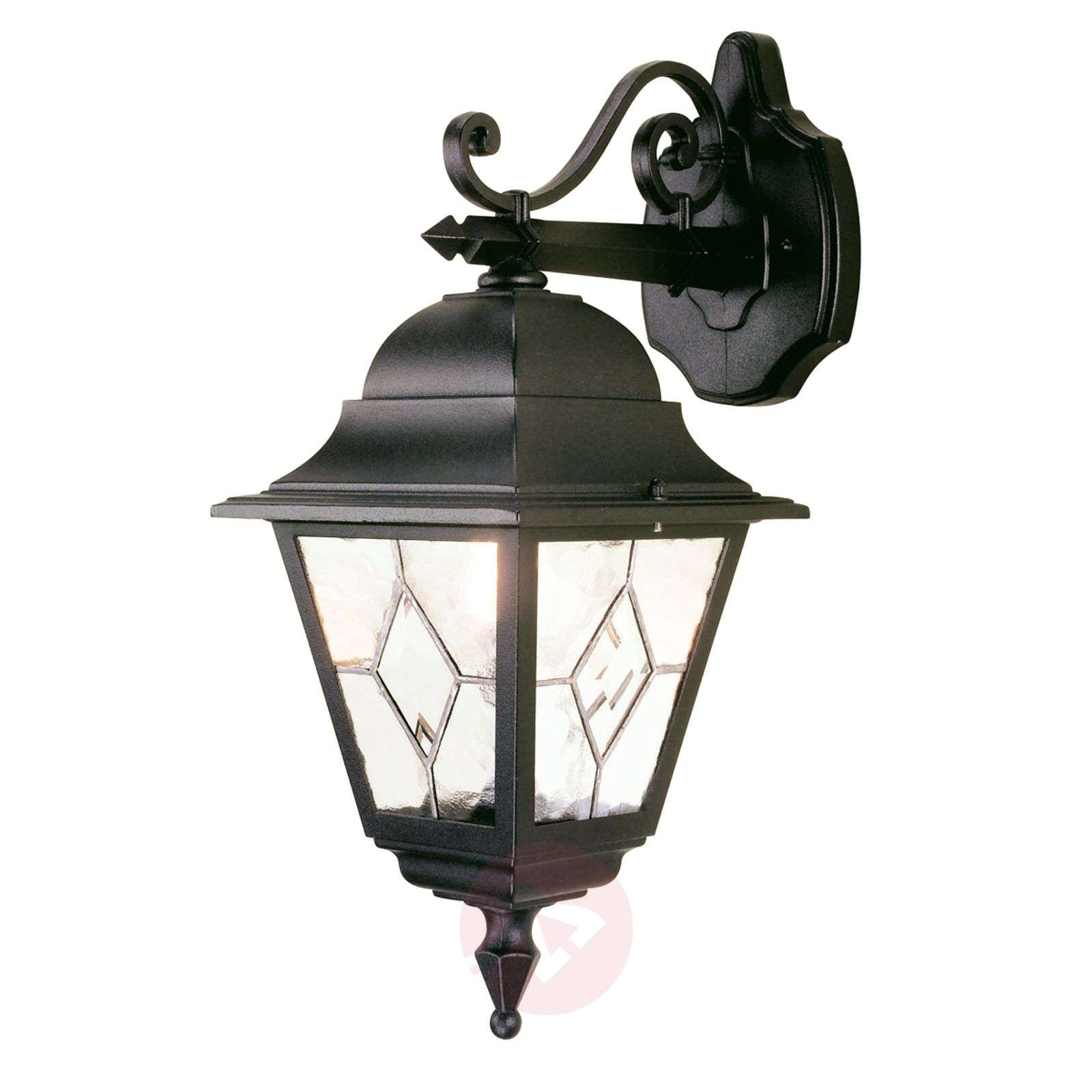 Norfolk outdoor wall light, leaded glass-3048424-01