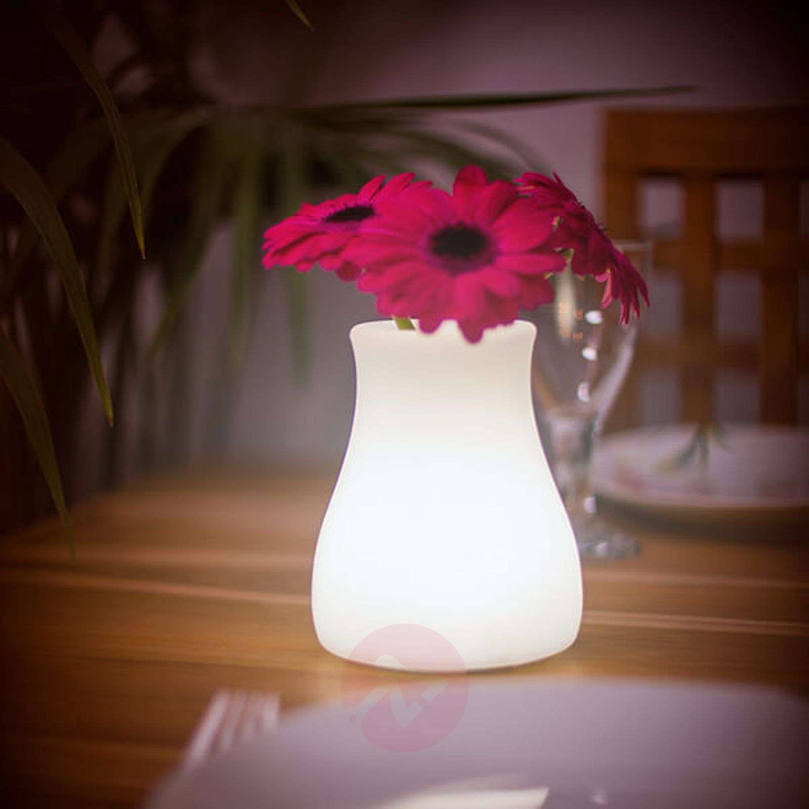 Olio controllable LED light source and vase-8590032-01