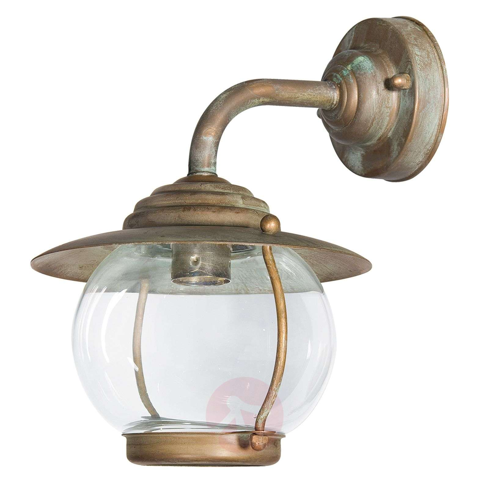 Olivia round outdoor wall lamp IP44-6515362-01