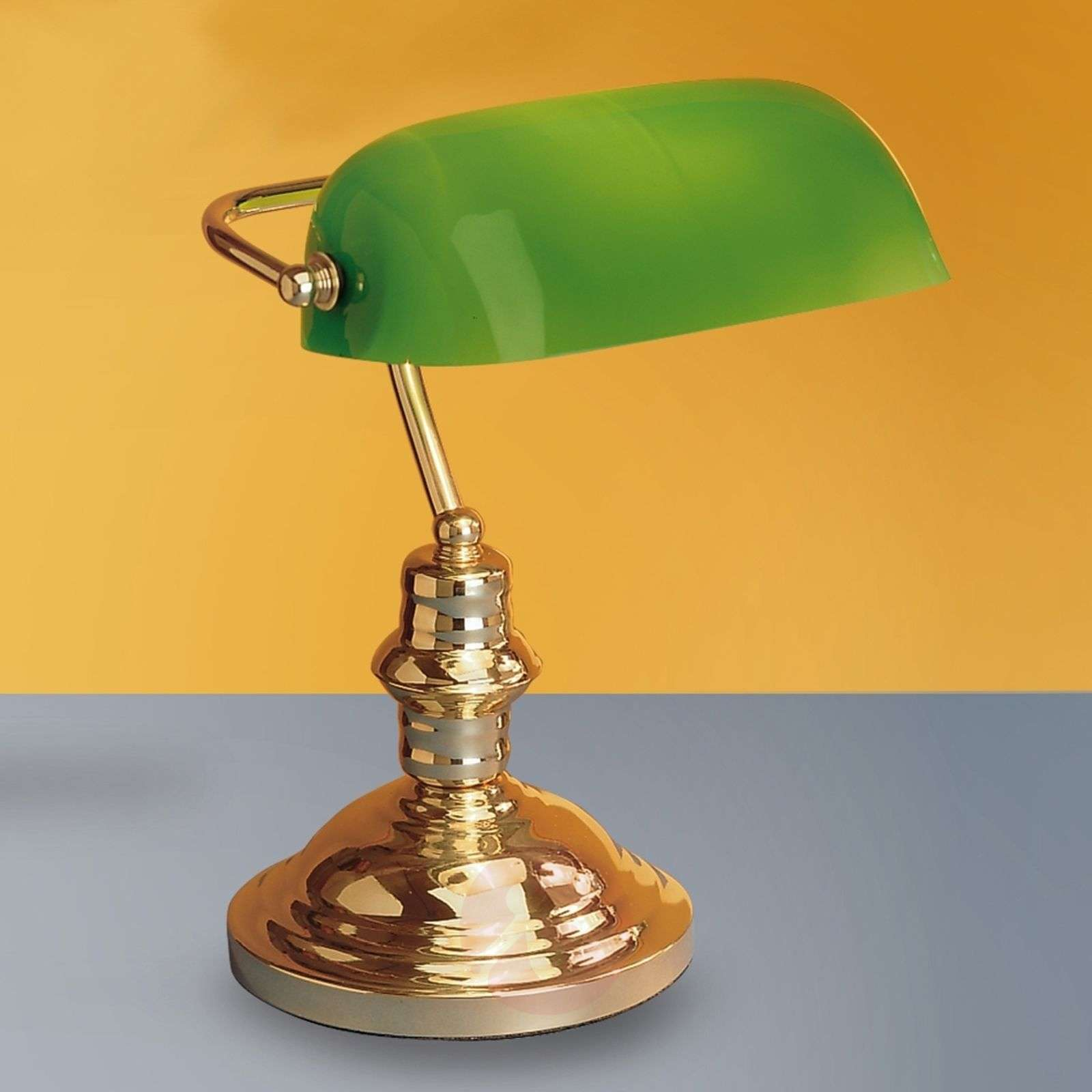 Onella table lamp, green-7253629-01