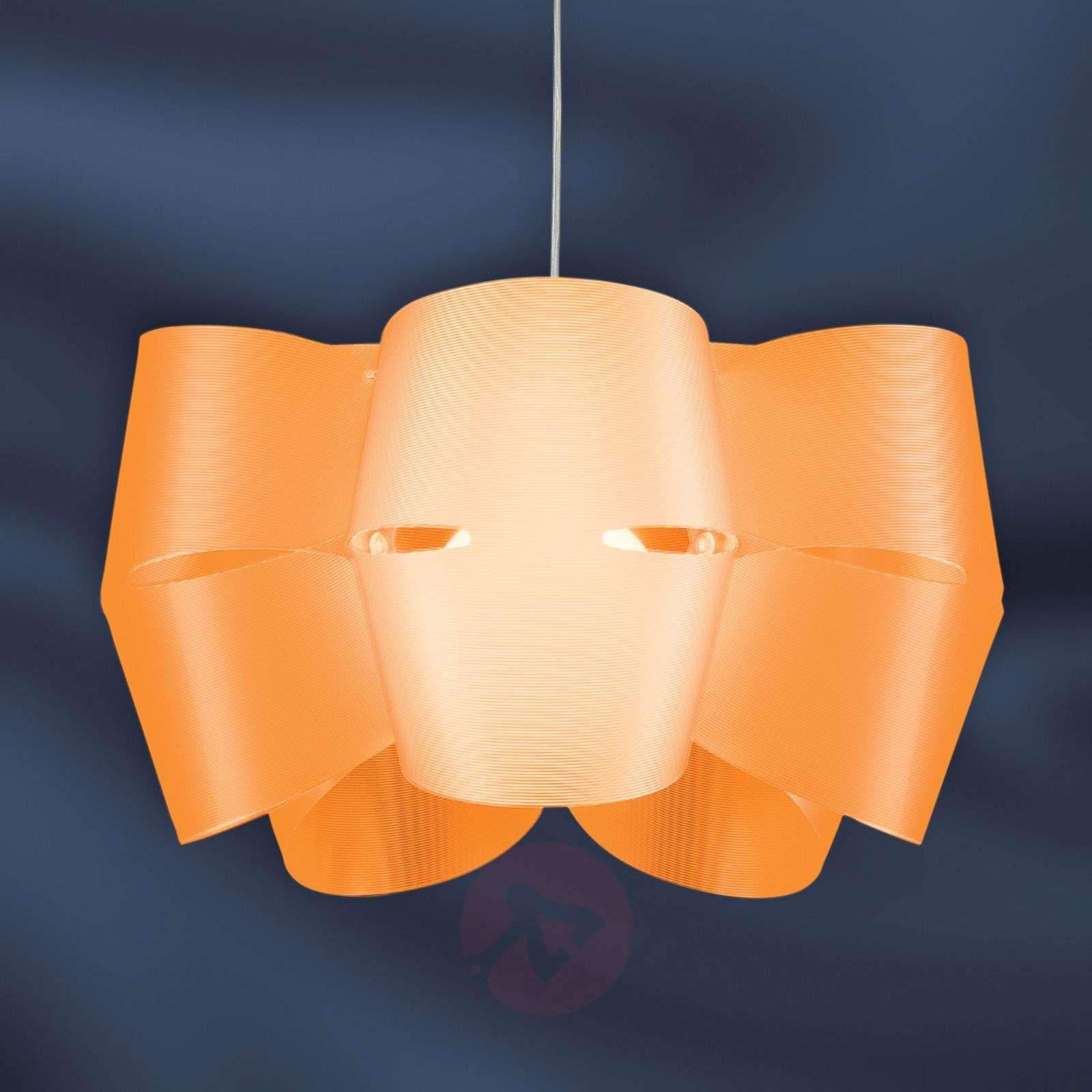 Orange hanging light Mini Alien-1056072-01