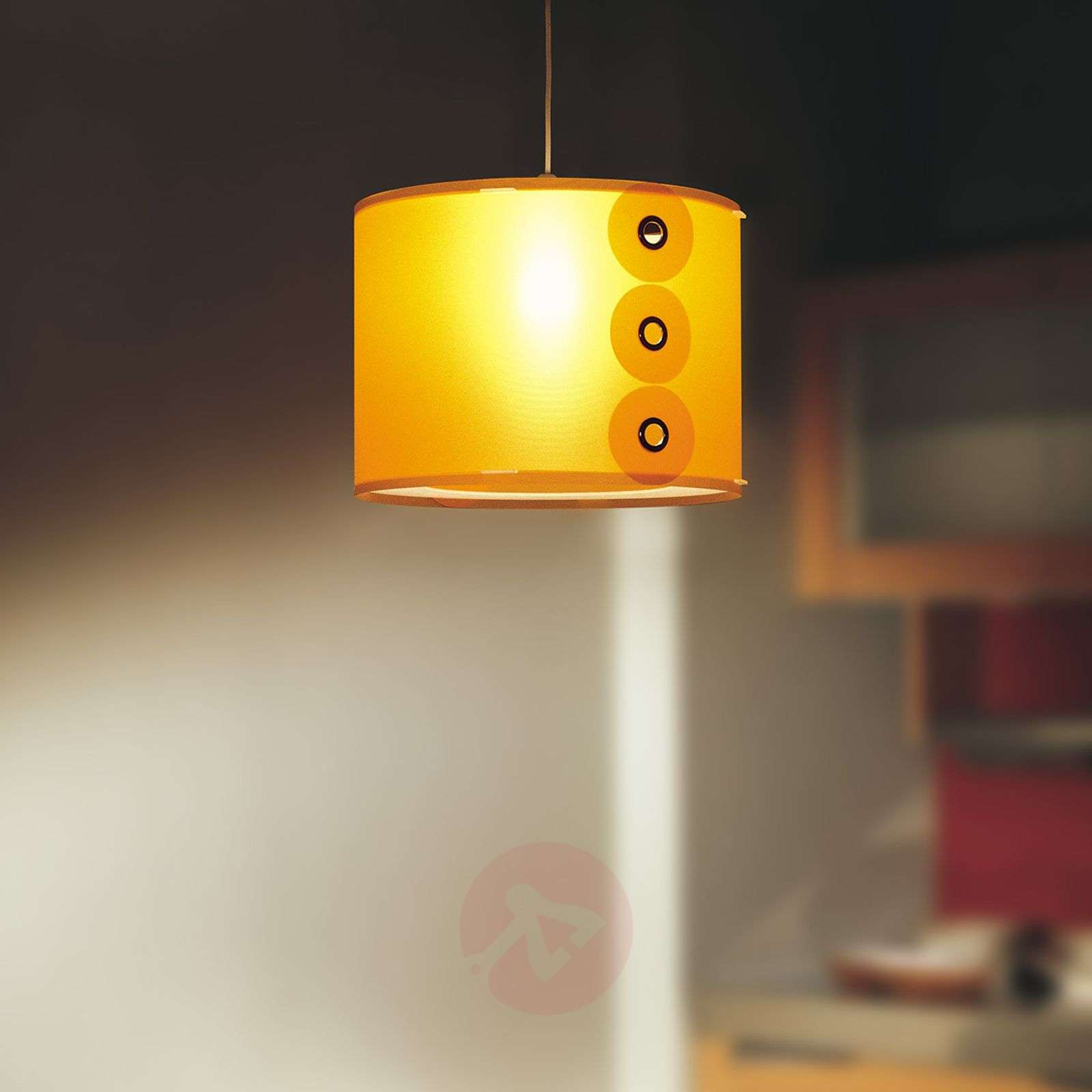 Orange pendant light Rotho-1056088-01