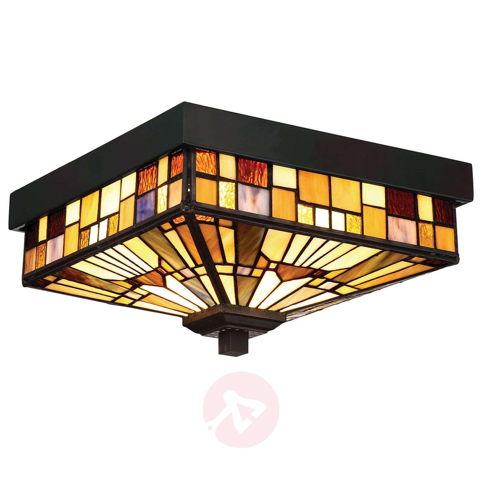 Outdoor ceiling light Inglenook, Tiffany design-3048939-01