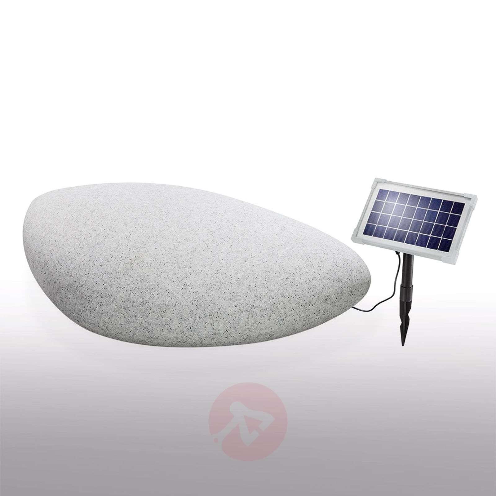 Outdoor decorative light solar LED Stone 40-3012503-02