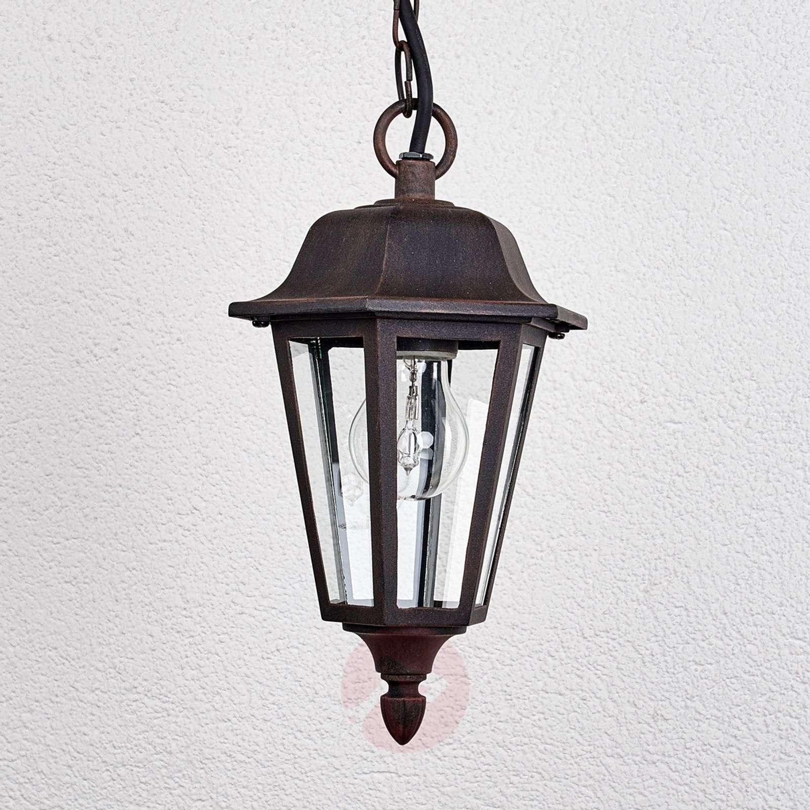 Outdoor hanging light Lamina in lantern form-9630056-01