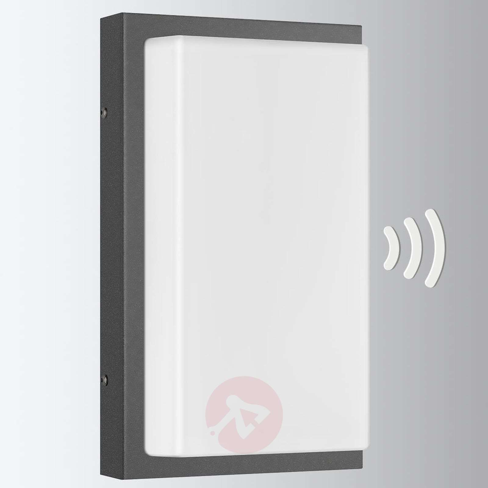 Outdoor wall lamp Babett with motion sensor-6068121-01