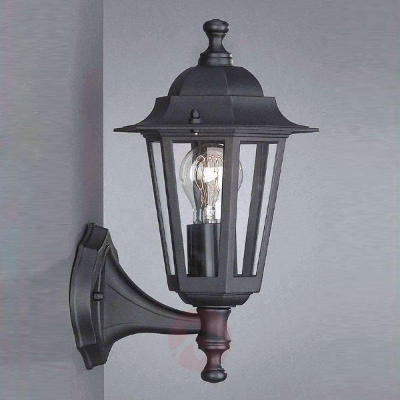 Outdoor wall lamp Peking black standing-6500177-01