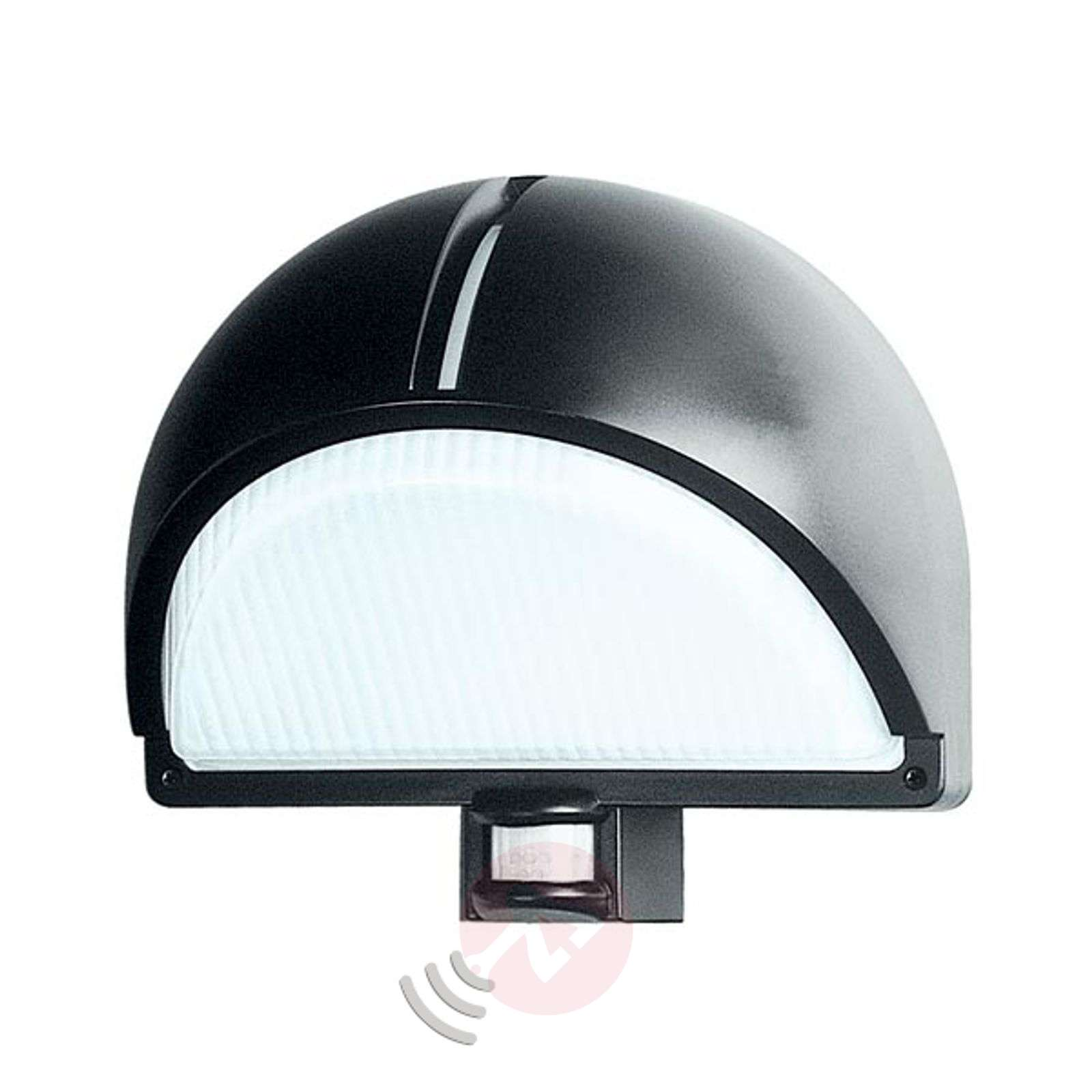 Outdoor wall lamp Polo 2 Detek with sensor, grey-7506280-02