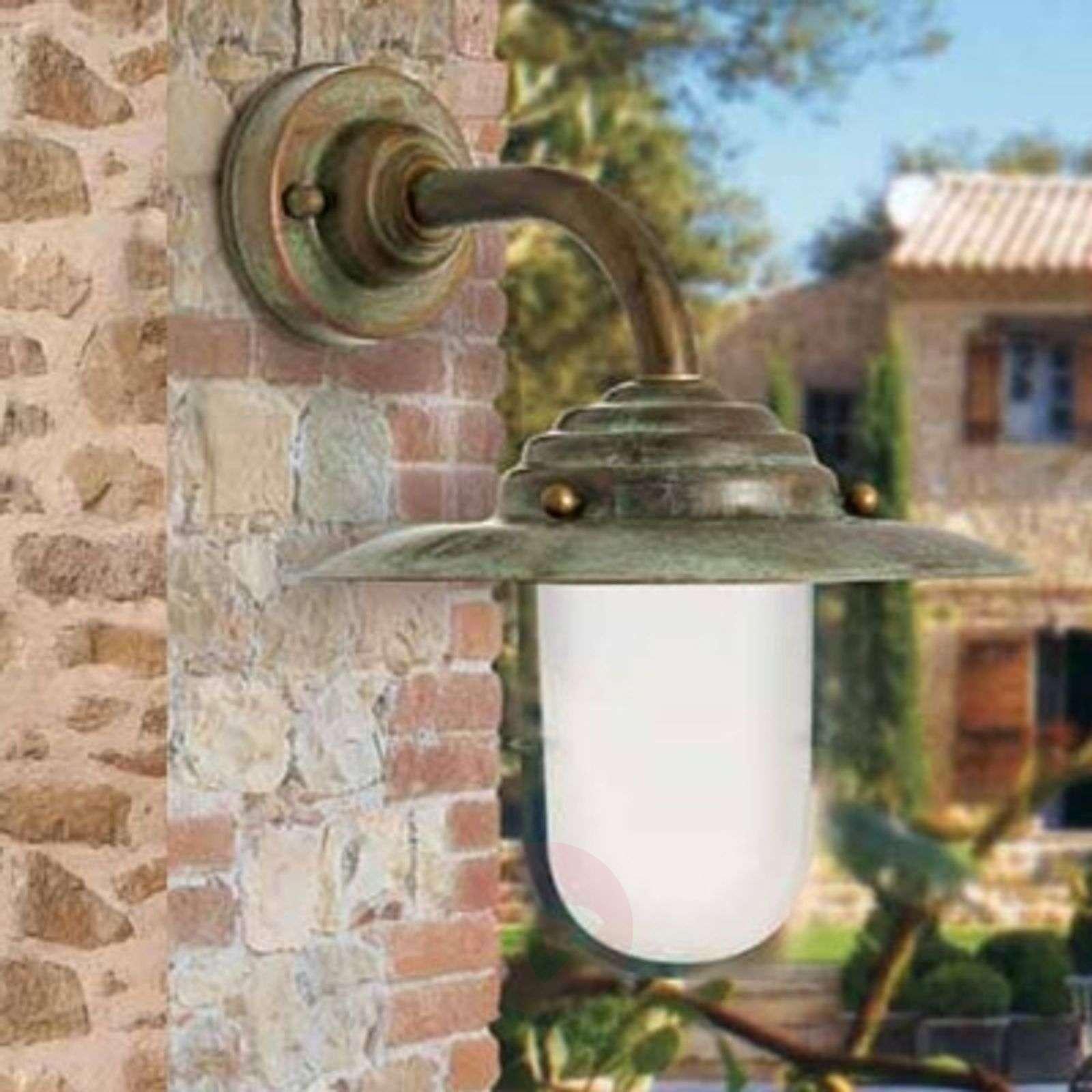 Outdoor wall light Antique, 26 cm, antique-copper-6515088-01