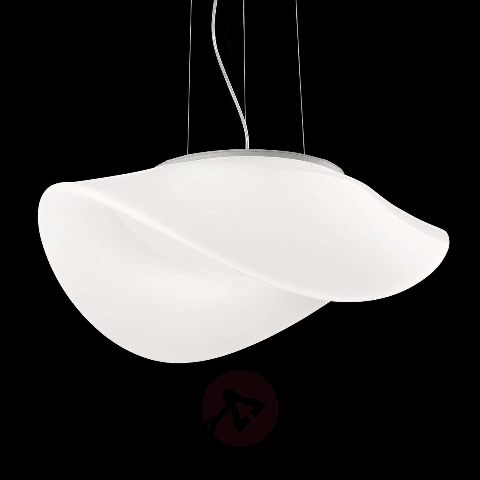 Oval glass hanging light Balance-9508104-01