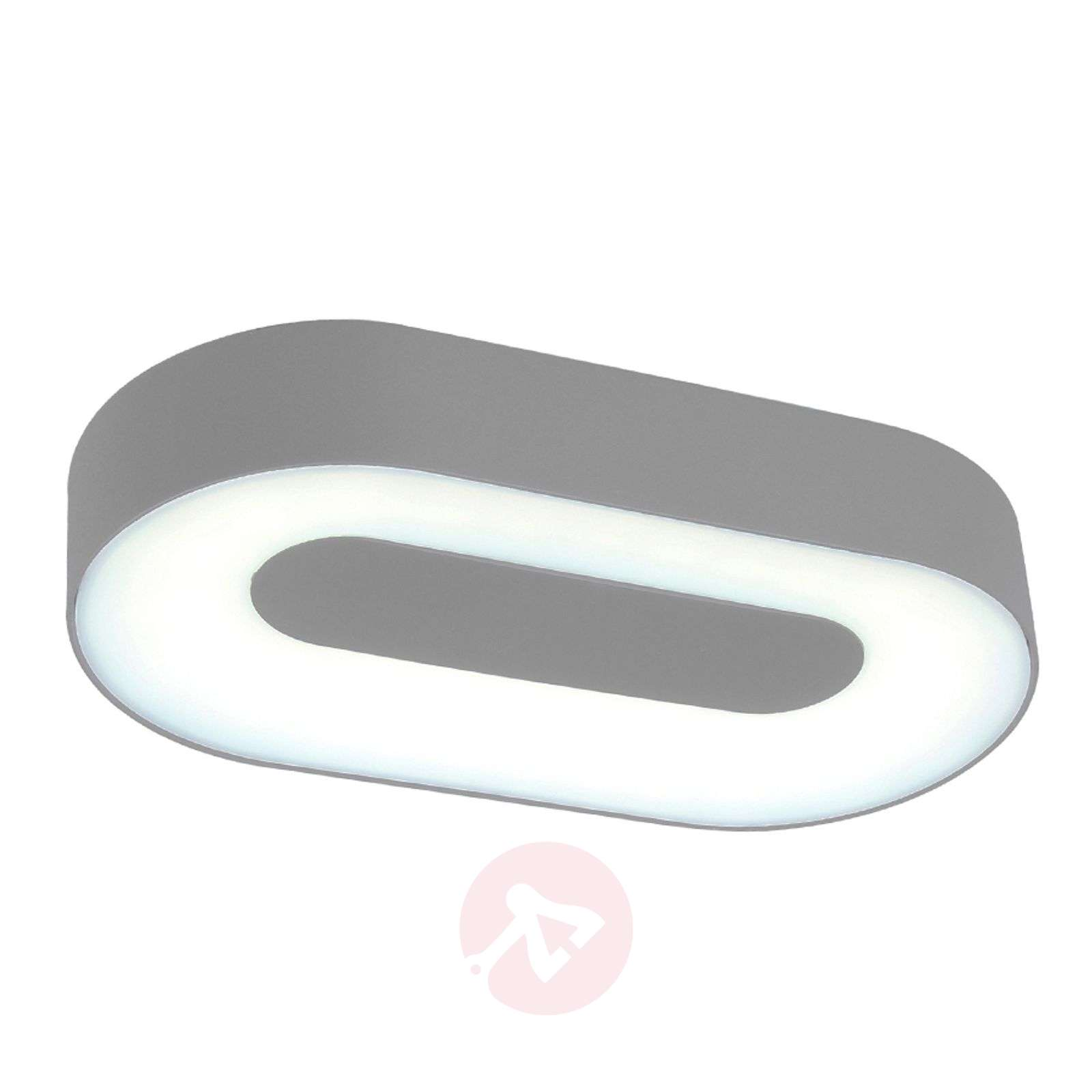 Oval Ublo LED wall light for outdoor areas-3006232-05