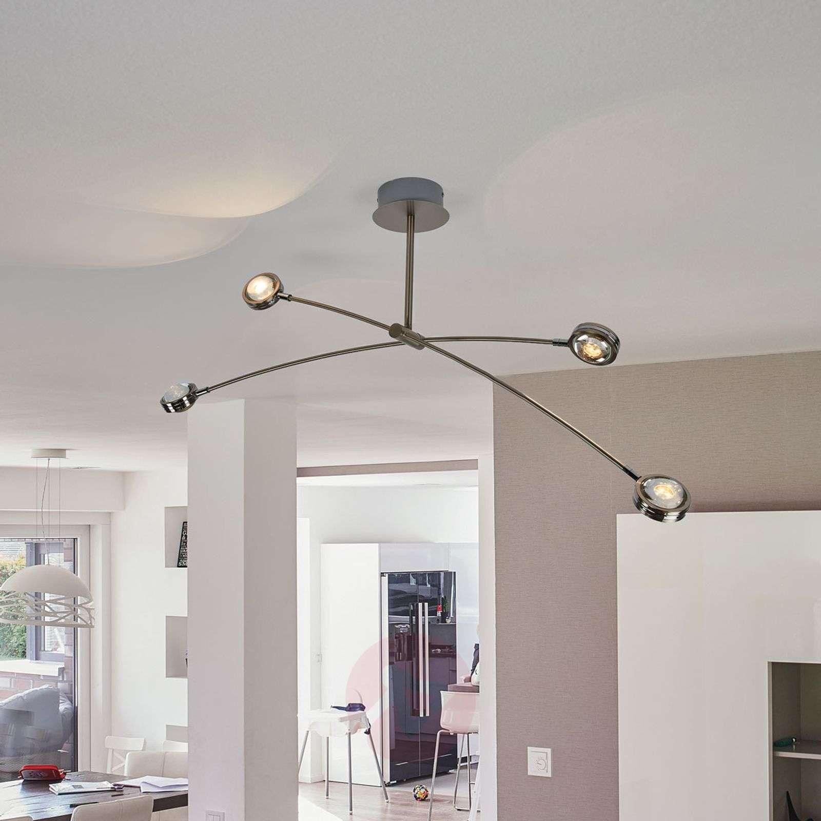 Pablos extravagant LED ceiling lamp, four-bulb-9994126-04