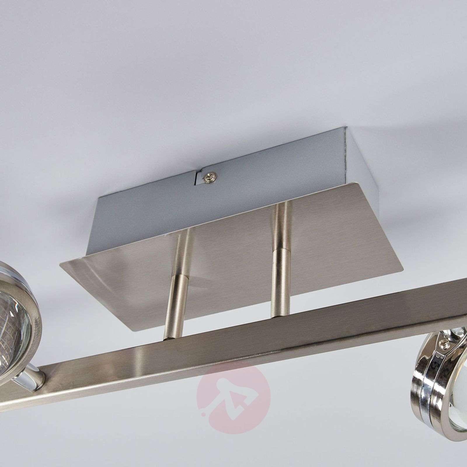 Pablos four-bulb LED ceiling light, chrome-9994125-01