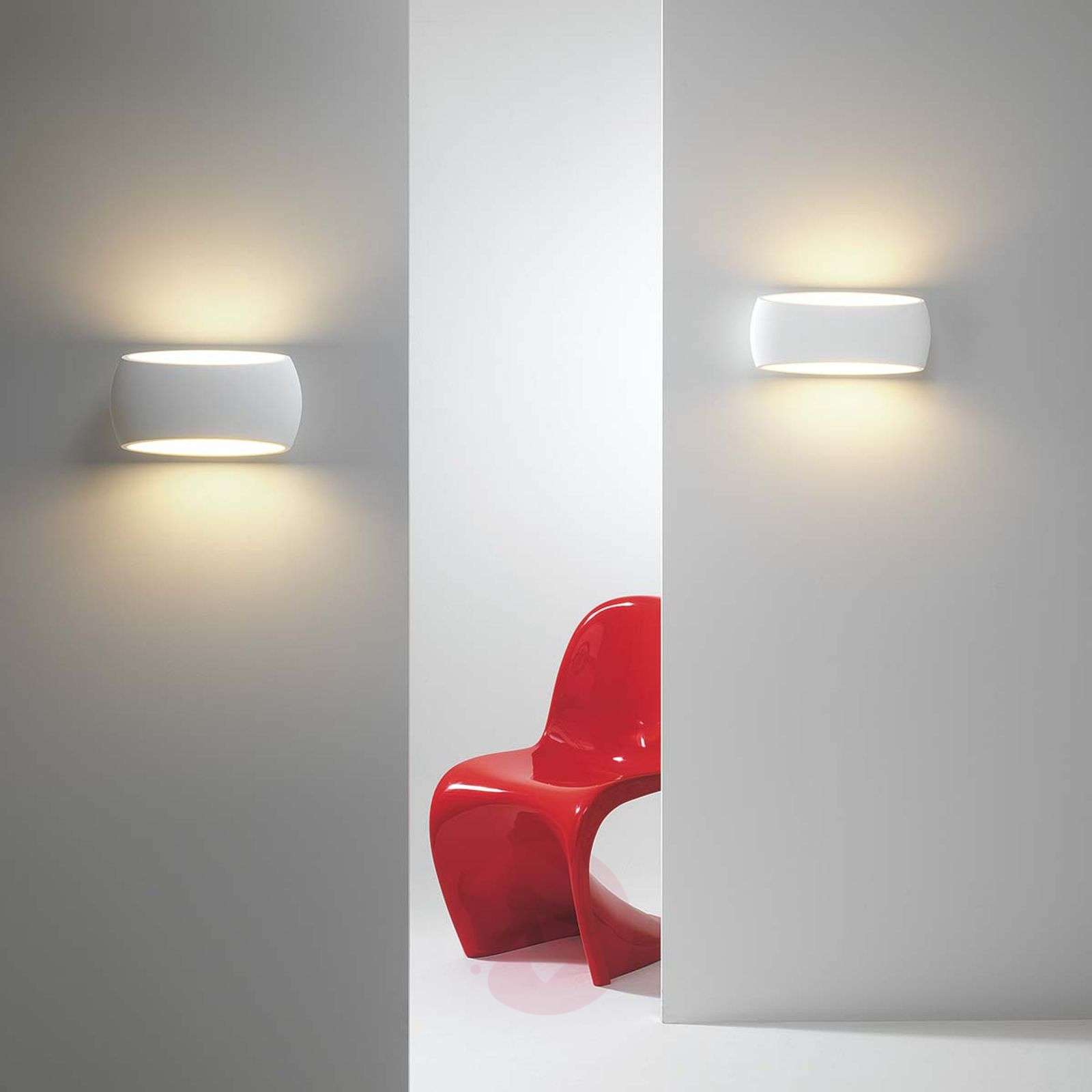 Paintable plaster wall light Aria-1020596-03
