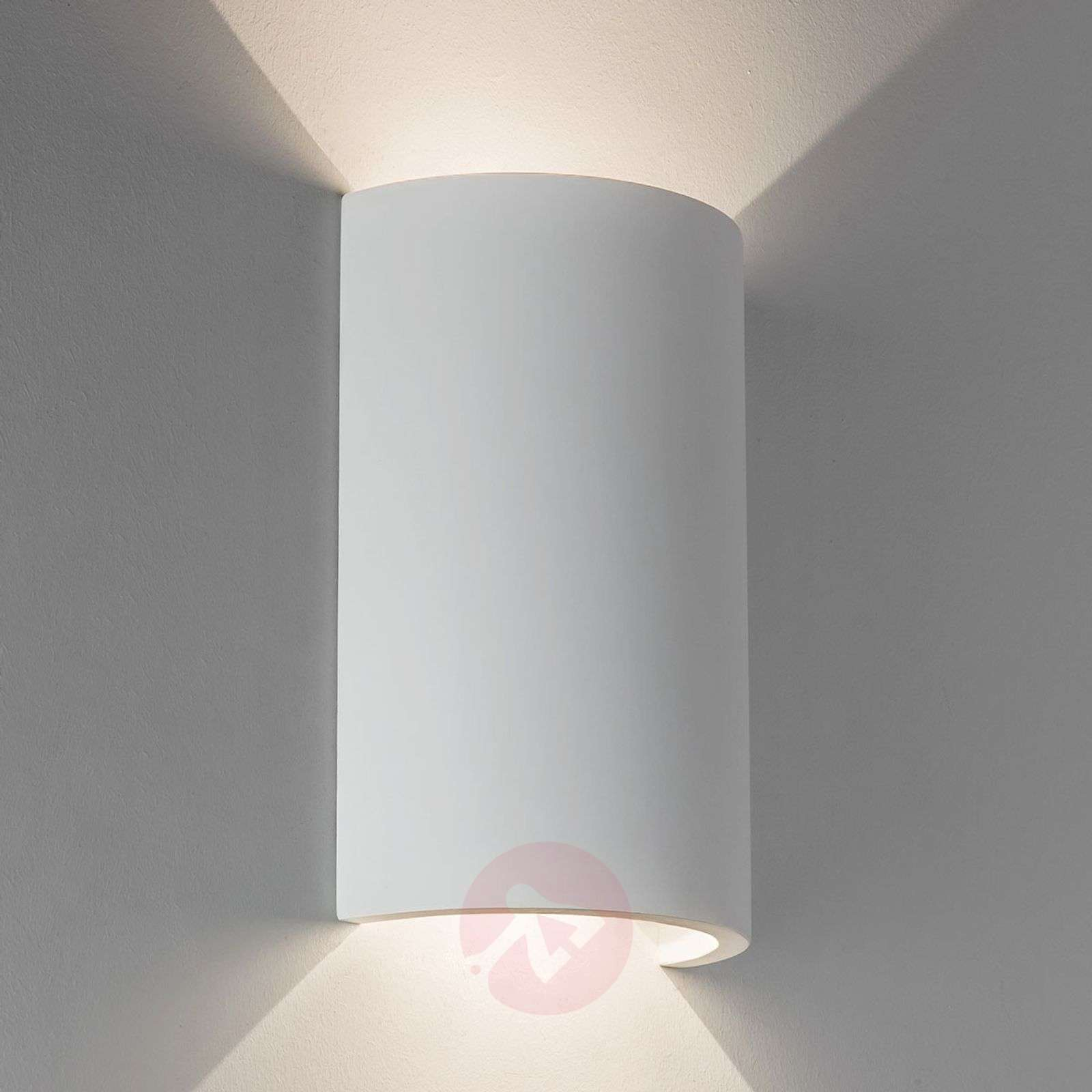 Paintable Serifos LED wall light 170, plaster-1020588-01