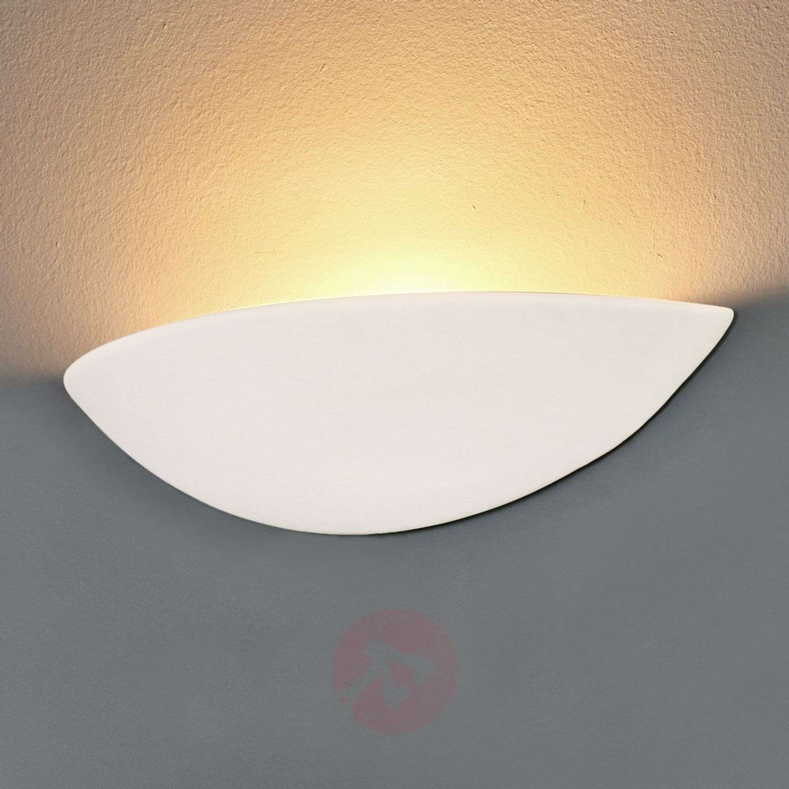 Pale Plaster Wall Light Paintable 8570466 01