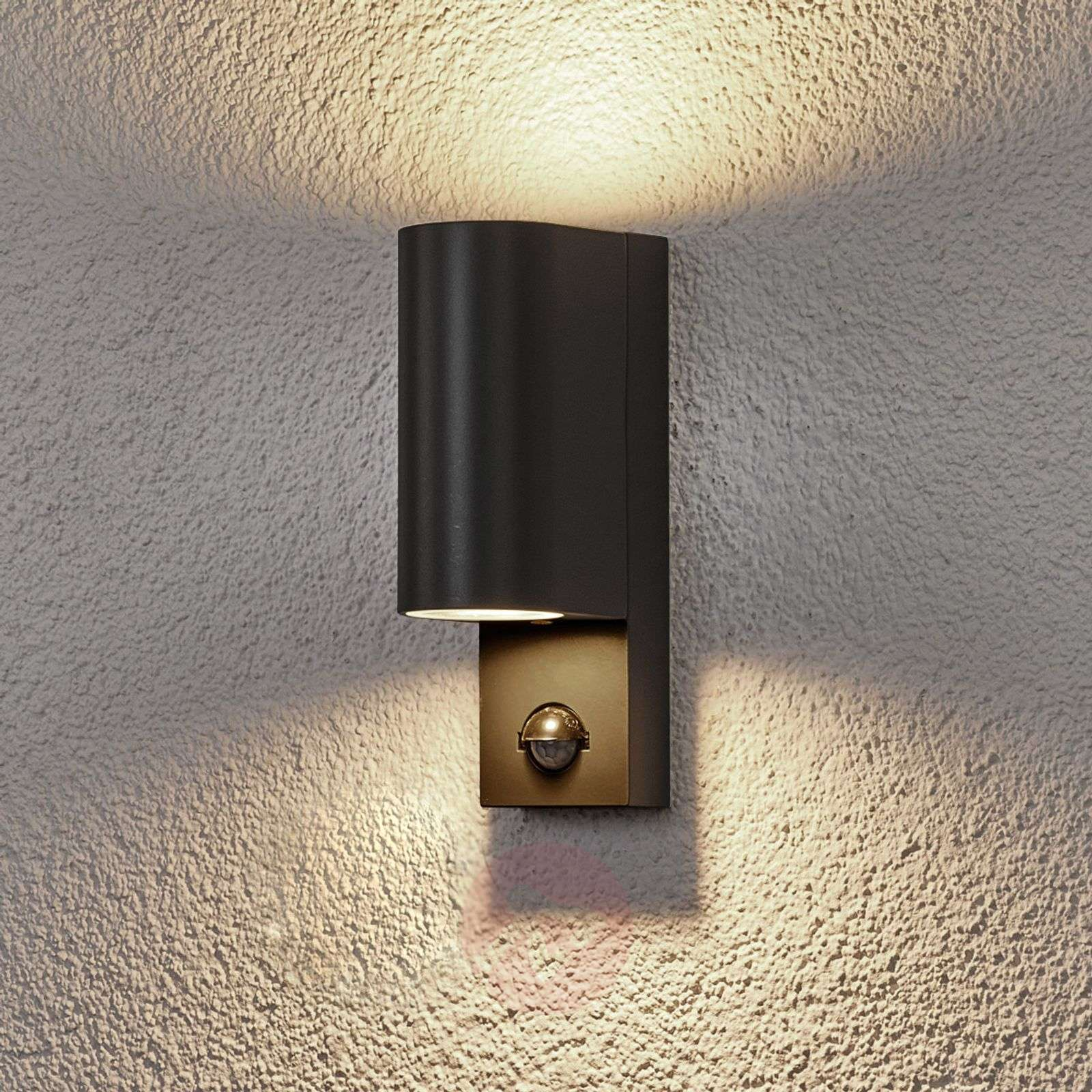 Palina outdoor wall lamp with sensor-9945034-021