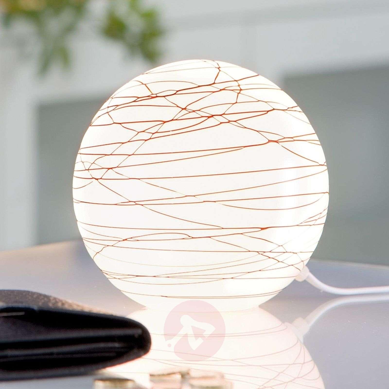 Paulmann Giba table lamp made of glass-7500735-01