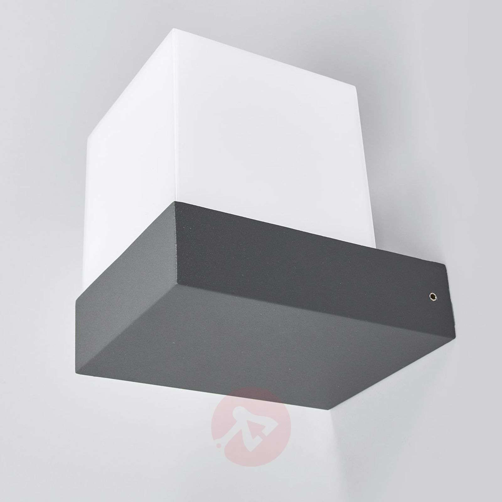 Pelina led outdoor wall light in cube shape lights pelina led outdoor wall light in cube shape 9618099 01 aloadofball Choice Image
