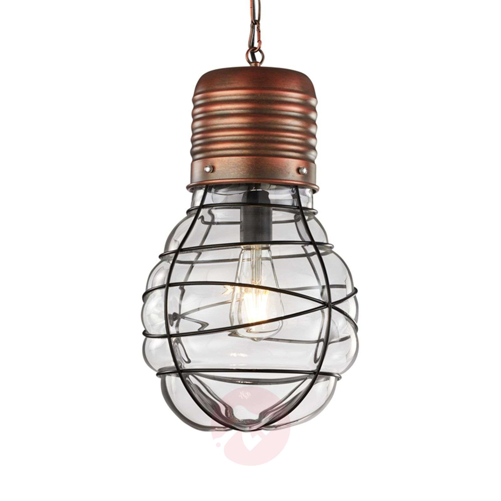 Pendant lamp Edda Antique copper_9005303_1